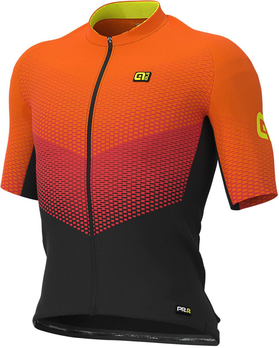 Women/'s XS Alé Cycling PRR 2.0 Jersey Fluo Red Orange