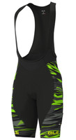 ALE' Rock PRR 4H Green Bib Shorts