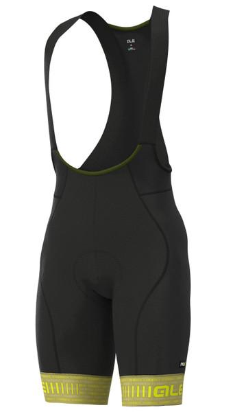 ALE' Green PRR 4H Pad Green Bib Shorts