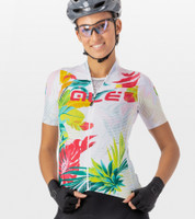 ALE' Tropika Solid Lady White Jersey Rider