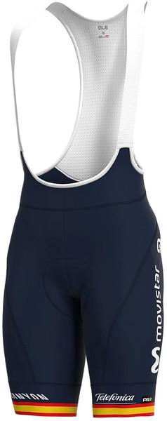 2020 Movistar Spanish Champion Bib Shorts