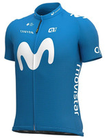 2020 Movistar Full Zipper Jersey