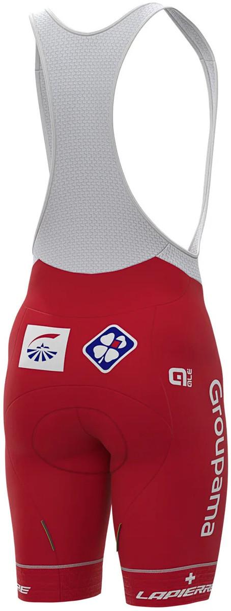 2020 Groupama FDJ Swiss Champion Bib Shorts Rear