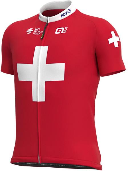 2020 Groupama FDJ Swiss Champion Full Zipper Jersey