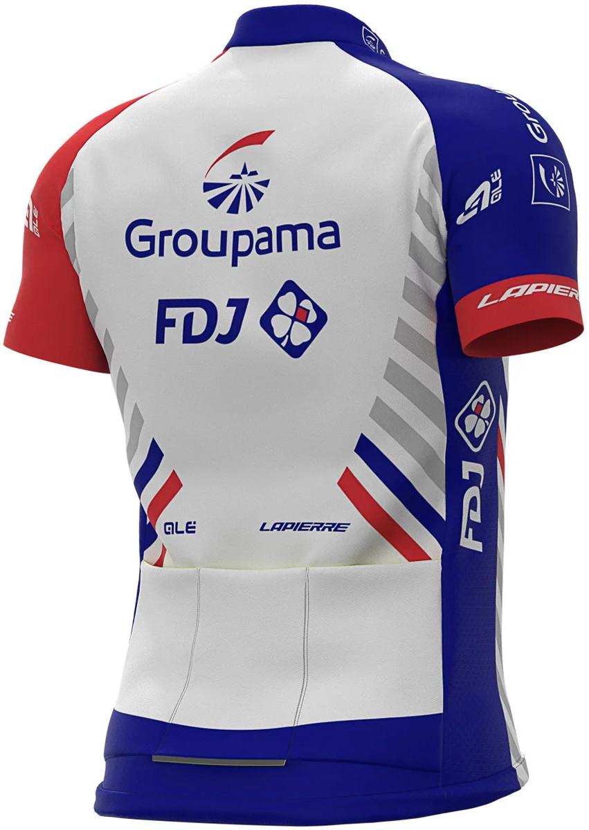 2020 Groupama FDJ Socks Rear