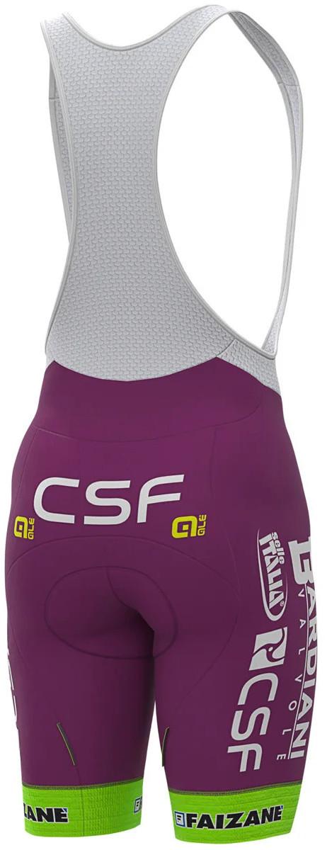 2020 Bardiani CSF Bib Shorts Rear