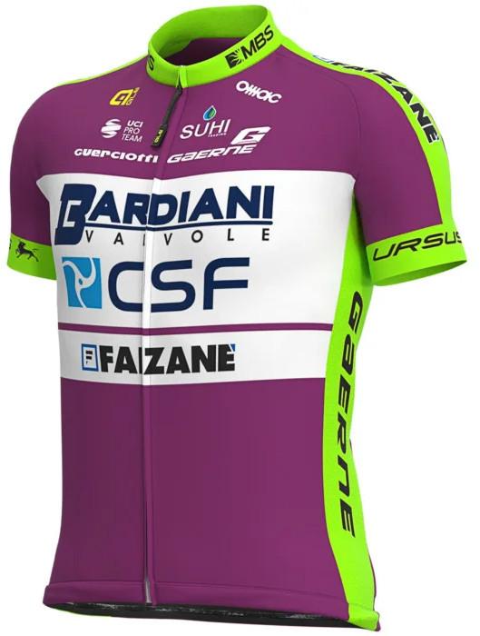 2020 Bardiani CSF Full Zipper Jersey