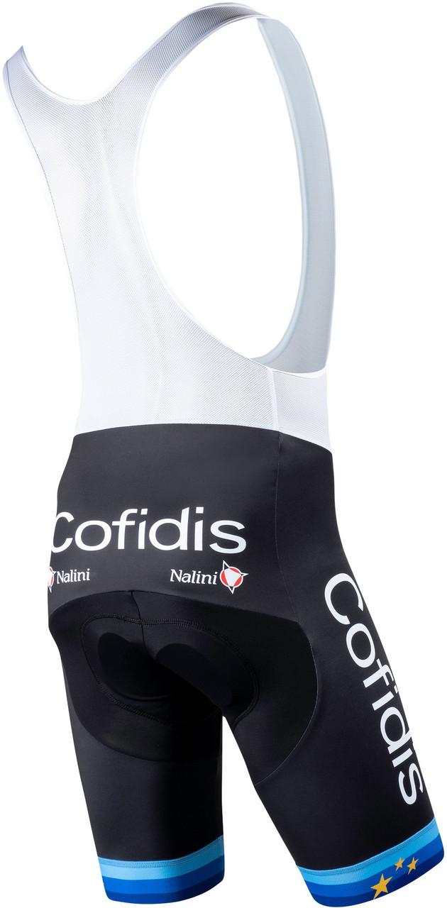 2020 Cofidis Euro Bib Shorts Rear