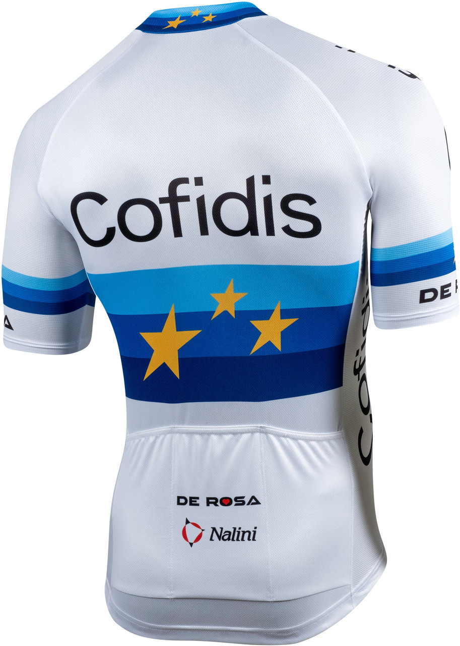 2020 Cofidis Euro Full Zip Jersey Rear