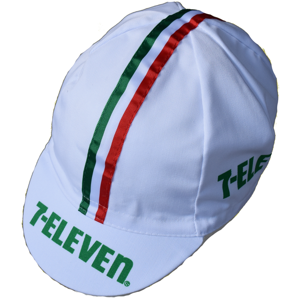 Seven Eleven Retro Cycling Cap