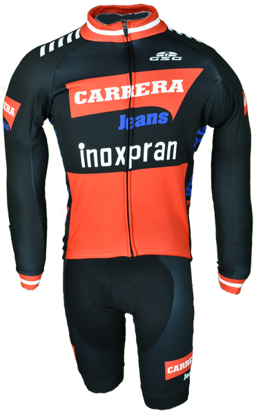 Carrera Retro Inoxpran White Long Sleeve Jersey