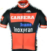 Carrera Retro Inoxpran Black Jersey