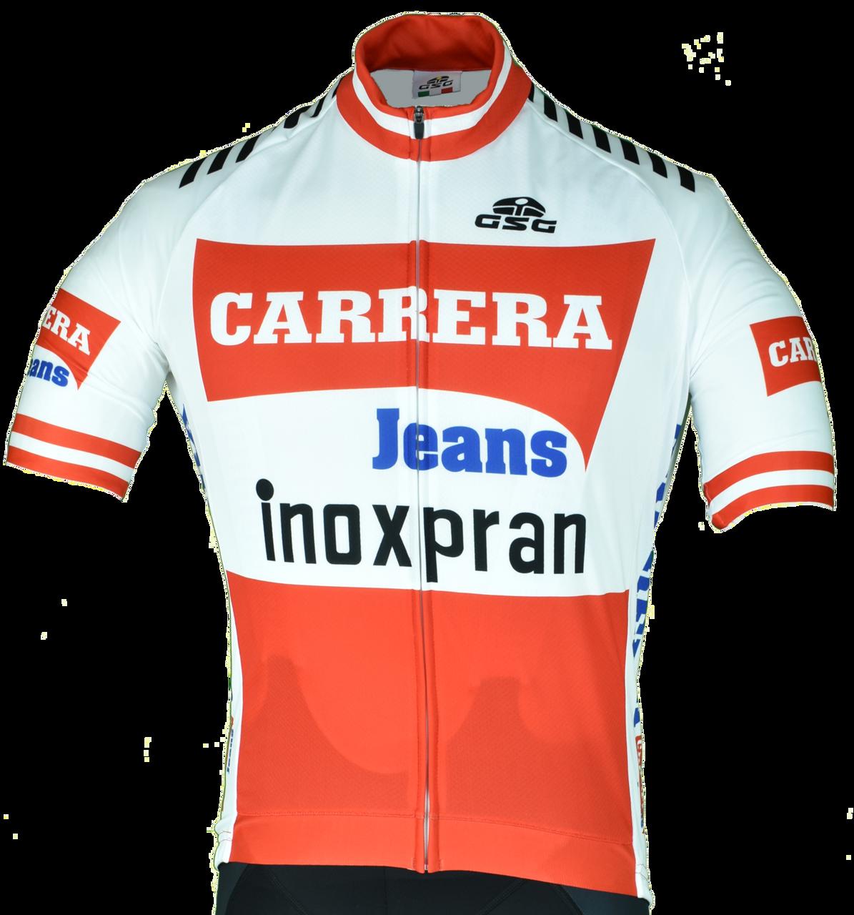 Carrera Retro Inoxpran White Retro Jersey