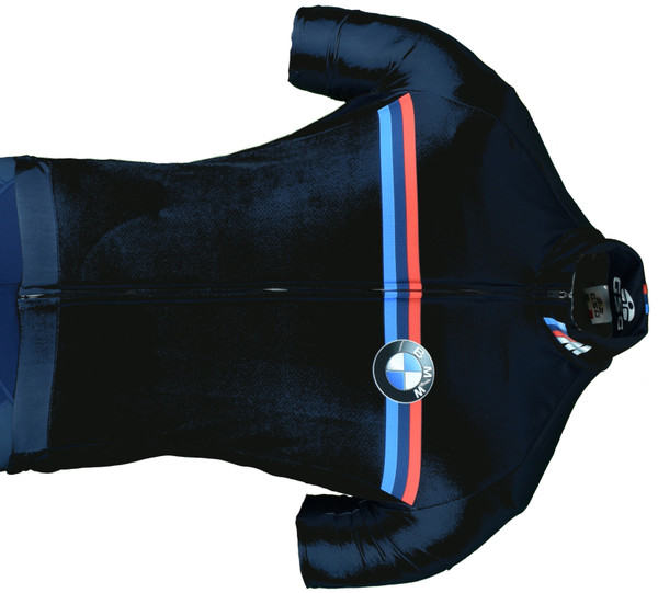 2020 BMW M Racing Dark Blue Full Zipper Jersey Close