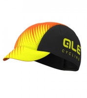 ALE' Cycling Team Black Orange Cap