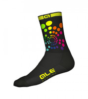 ALE'Color Burst Q-Skin Sock 6 in Cuff