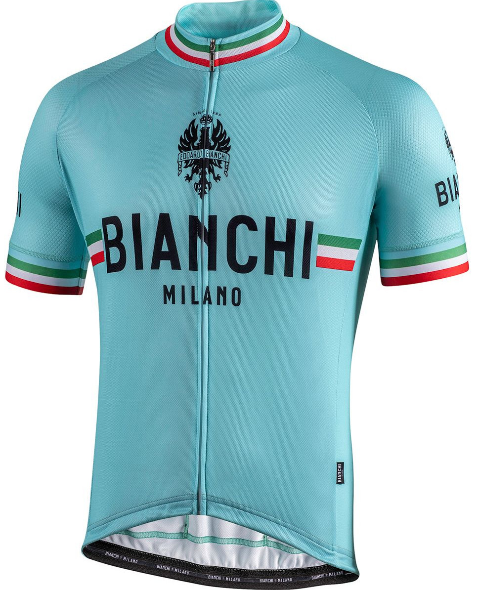 Bianchi Milano Isalle Celeste Green Jersey