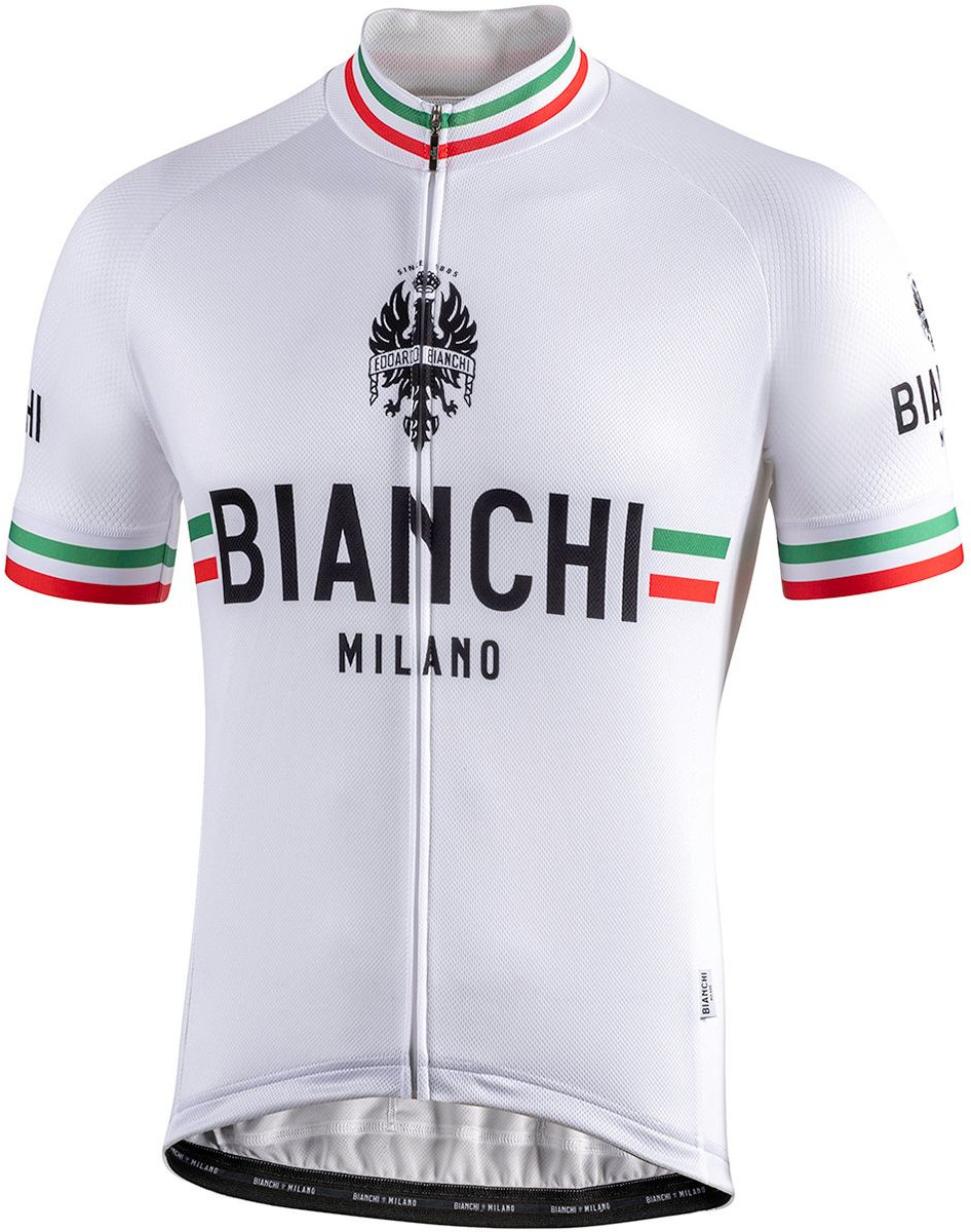 Bianchi Milano Isalle White Jersey