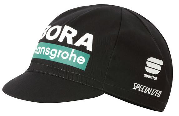 2020 Bora Hansgrohe Green Black Cap