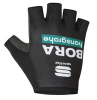 2020 Bora Hansgrohe Green Black Track Mitts