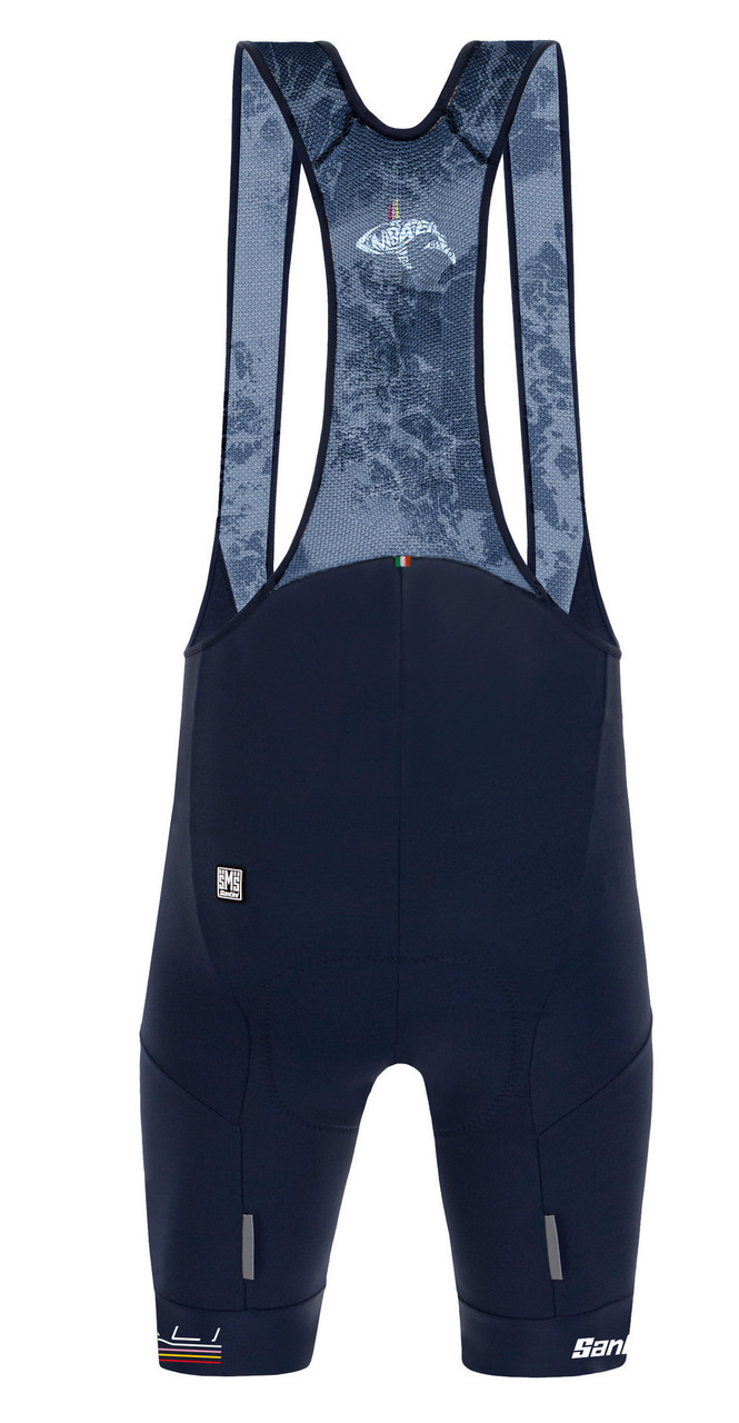 2020 Trek Nibili Shark Bib Shorts Rear