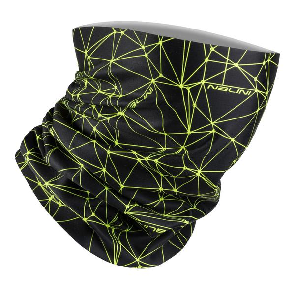 Nalini Collar 2.0 Black Fluo Neck Gaitor Tube
