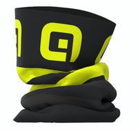 ALE' Black Fluo Piuma Neck Gaitor Tube