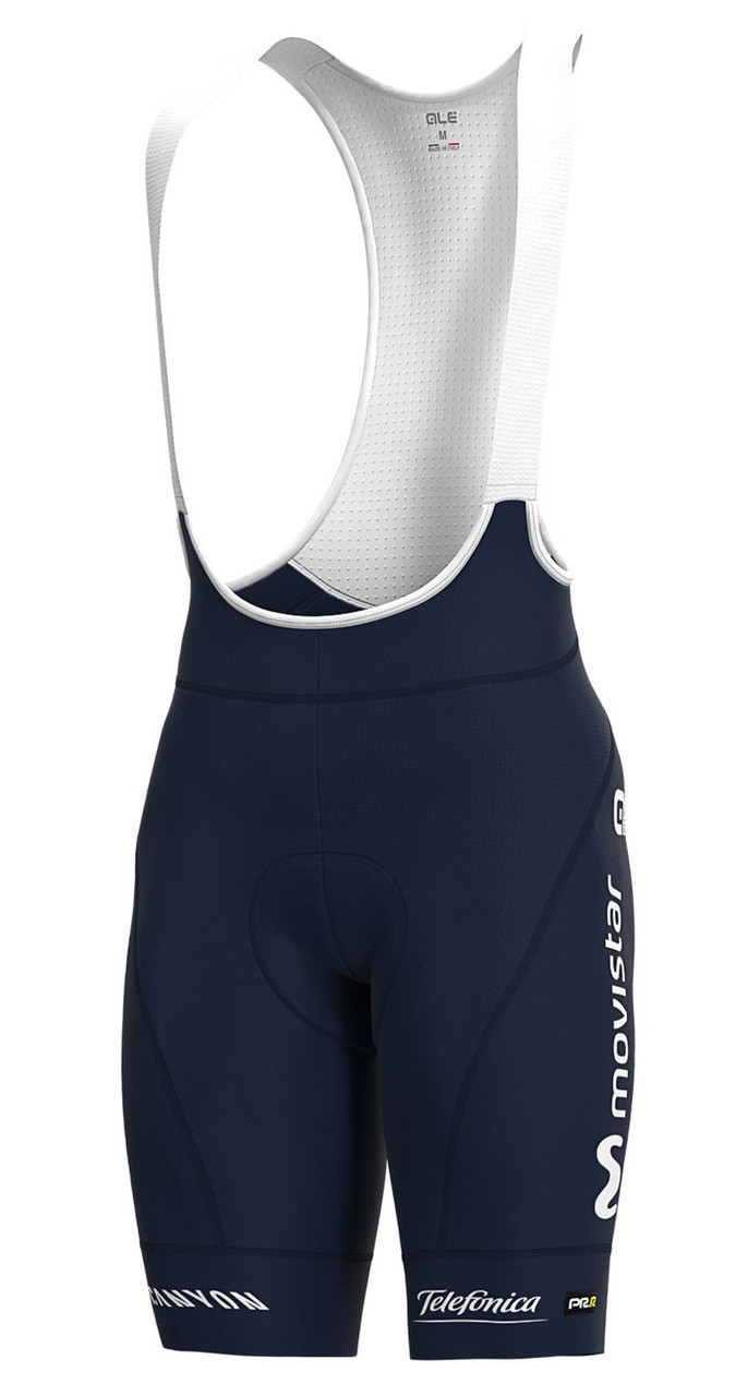 2020 Movistar PRR Team Issue Bib Shorts