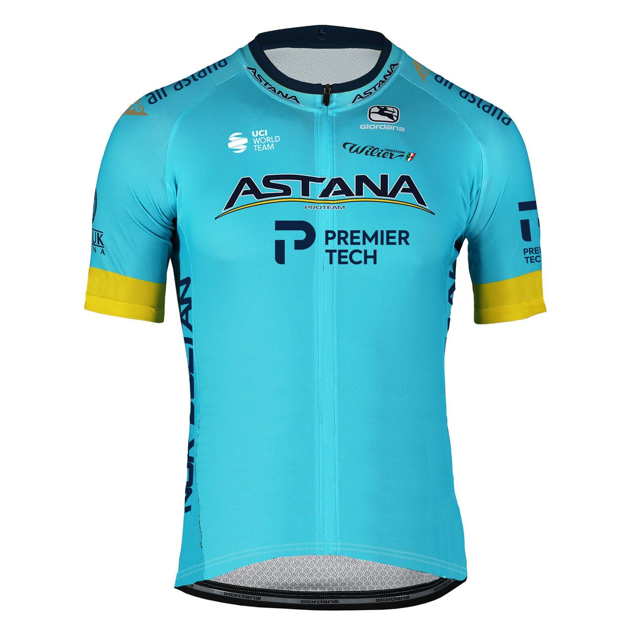 2020 Astana Premier Tech Vero Pro FZ Jersey