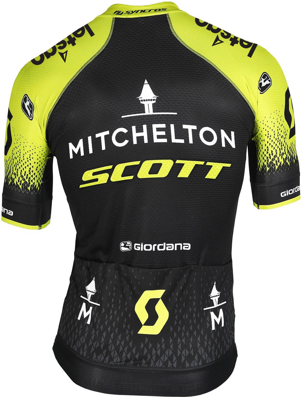 2020 Mitchelton Scott Vero Pro FZ Jersey Rear