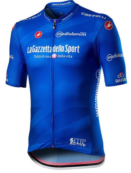 2020 Giro D' Italia Competizione Blue Climbers Jersey