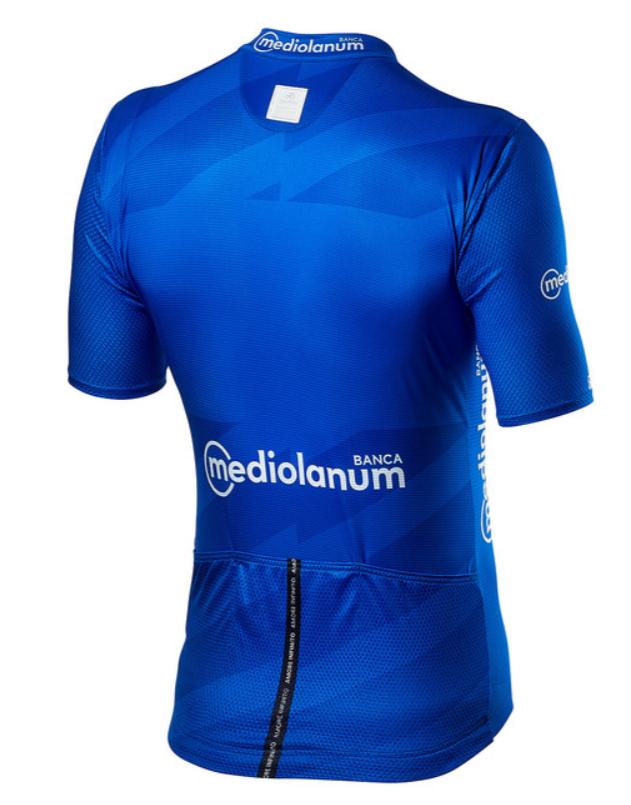 2020 Giro D' Italia Competizione Blue Climbers Jersey  Rear