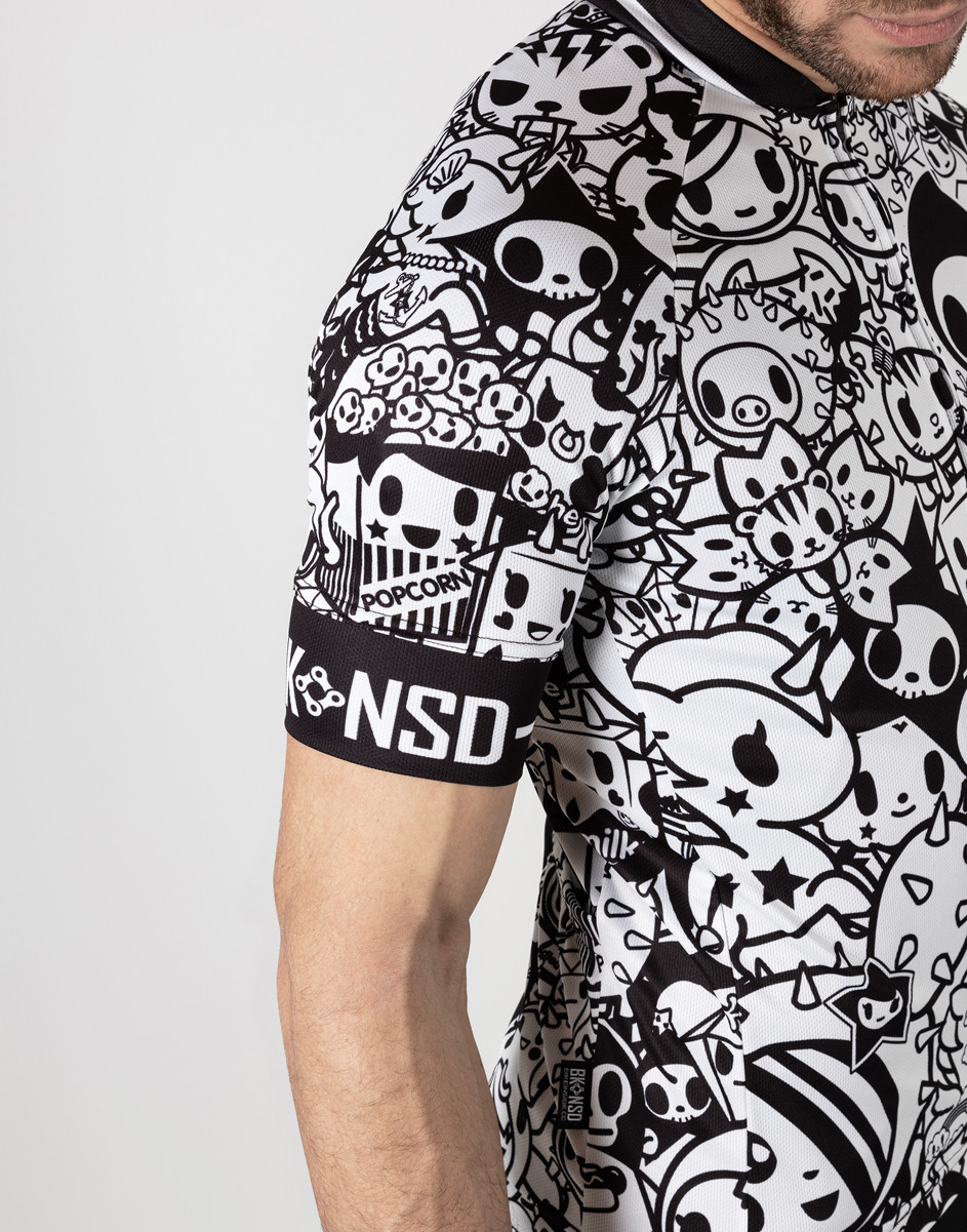 BK-NSD Tokidoki Limited Edition Signature Jersey  Close Up