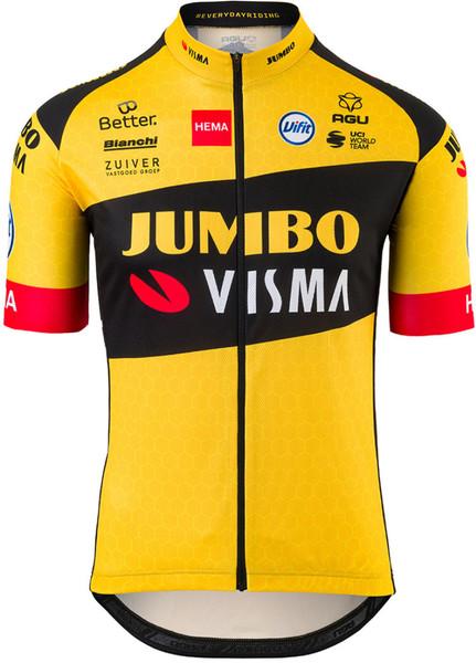 2020 Jumbo Visma Full Zip Jersey
