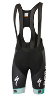 2020 Bora Hansgrohe Green Black Bodyfit Pro LTD Bib Shorts