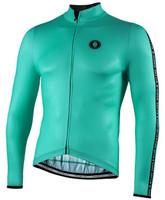 Bianchi Milano Valfurva Celeste Green Long Sleeve Jersey