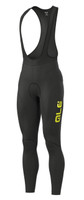 ALE' Winter Solid 4H Pad Yellow Bib Tights