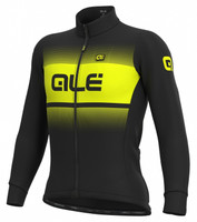 ALE' Blend Solid Winter Yellow Long Sleeve Jersey