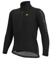 ALE' Fondo Solid Black Long Sleeve Jersey