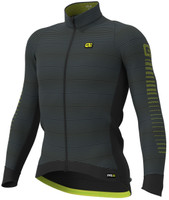 ALE' Thermo Road PRR Yellow Long Sleeve Jersey