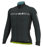 ALE' Green Road PRR Black Long Sleeve Jersey