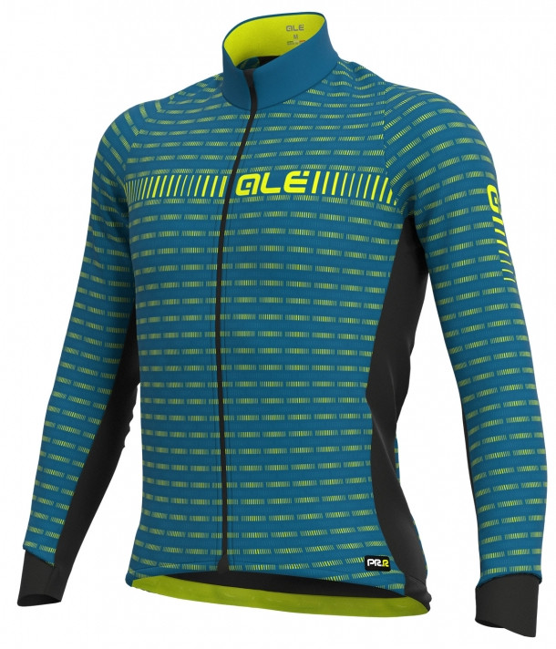 ALE' Green Road PRR Blue Long Sleeve Jersey