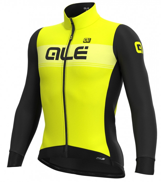 ALE' Logo DWR PRS Yellow Long Sleeve Jersey