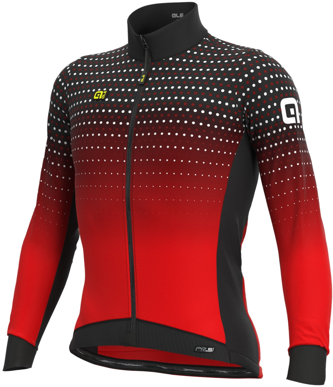 ALE' Bullet DWR PRS Red Long Sleeve Jersey