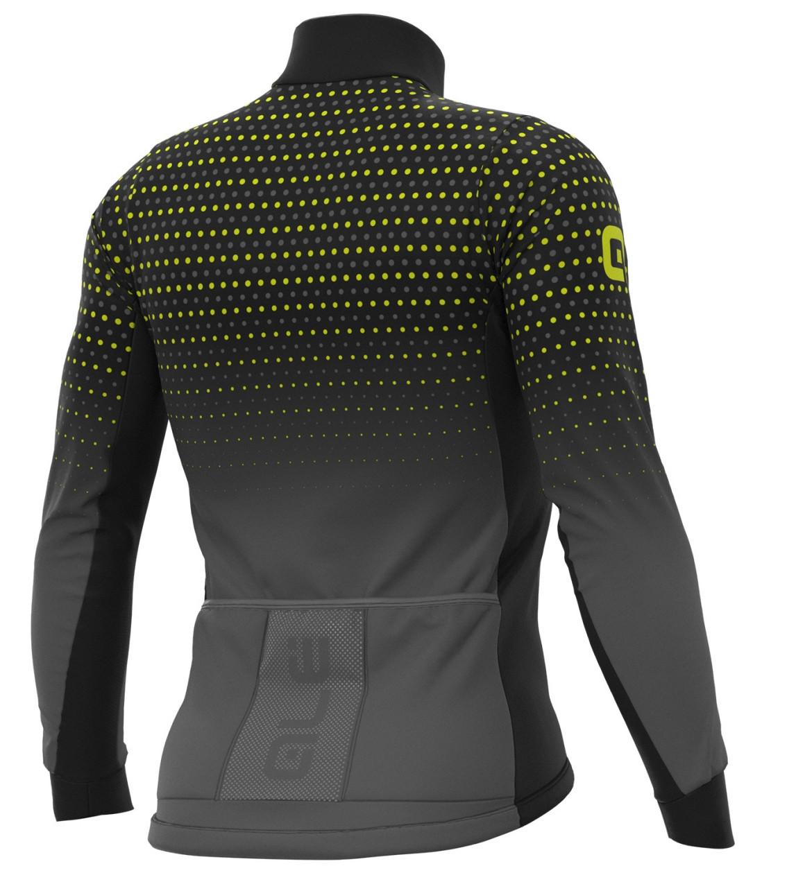 ALE' Bullet DWR PRS Black Long Sleeve Jersey Back