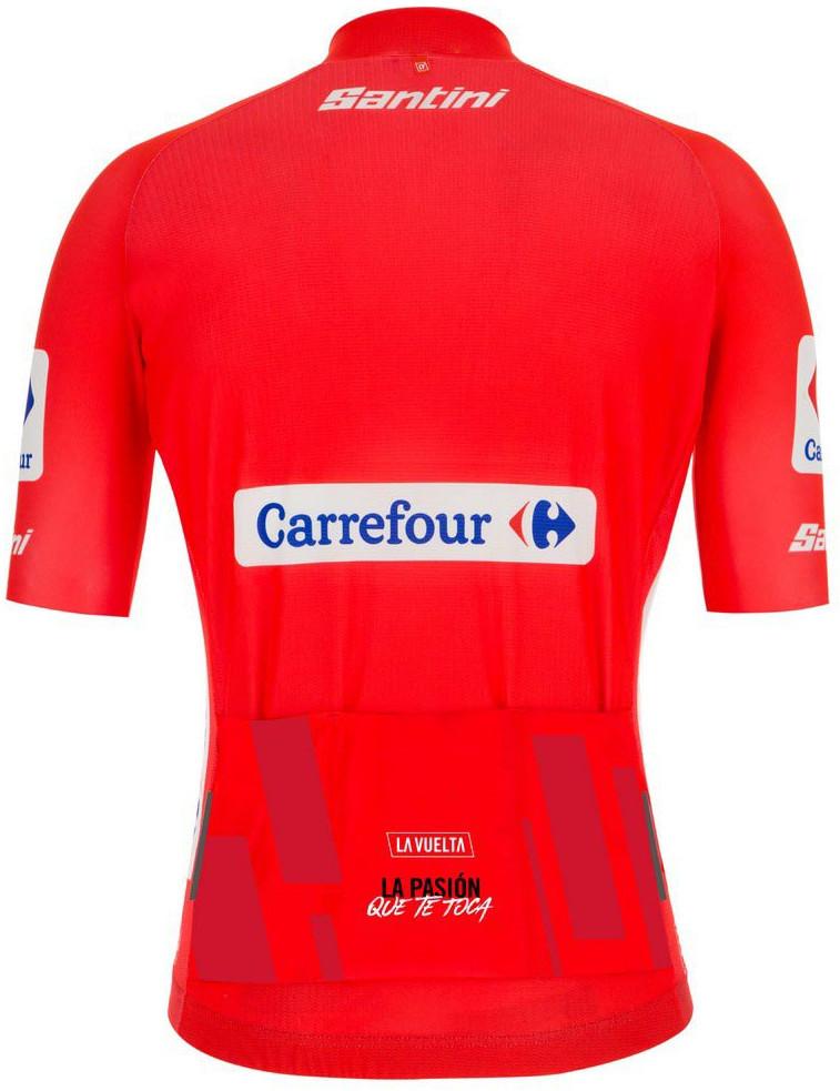 La Vuelta Red Leaders Jersey Rear