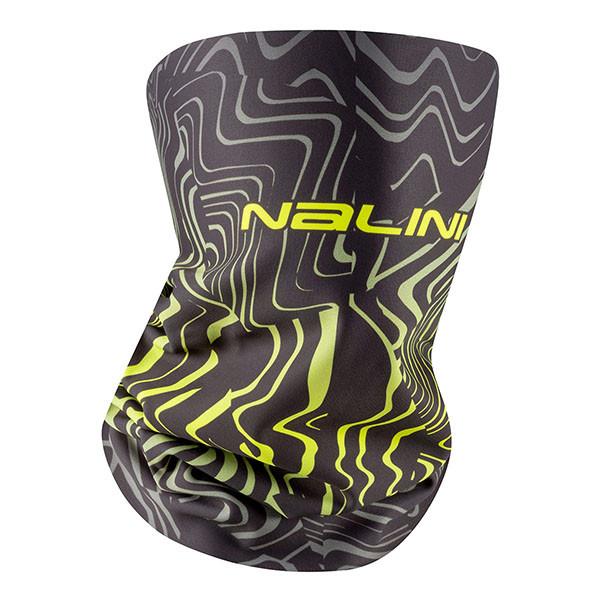 Nalini Yellow Gaiter Thermal Neck Logo Collar