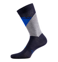 Nalini Wool Thermal B0W Blue Socks