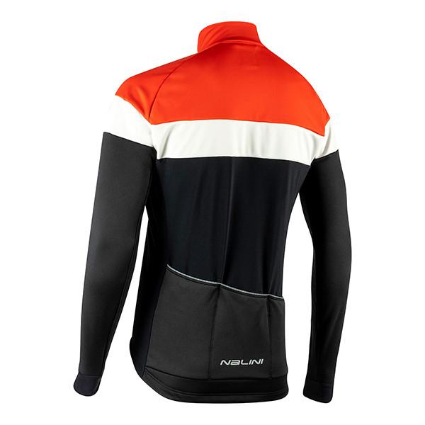 Nalini Pista B0W Red Jacket Rear