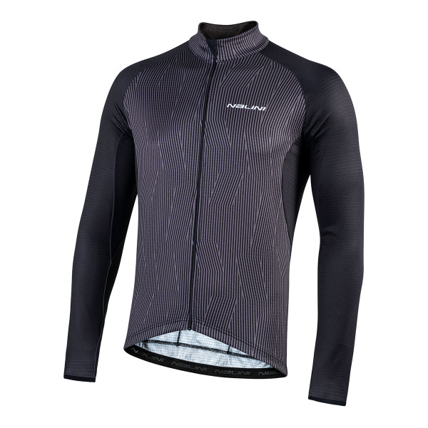 Nalini Classica B0W Gray Long Sleeve Jersey